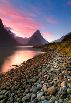 Milford Sound, south island, New Zealand Tasmania, The Places Youll Go, Places To See, Bolivia, Vida Natural, Milford Sound, Lake Mountain, Destinations, Heaven On Earth