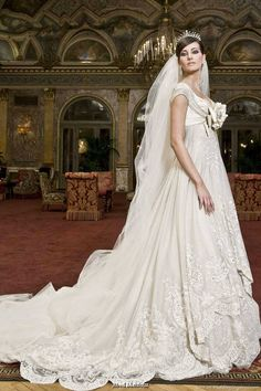 glamorous wedding gowns