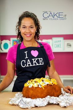 If you like Fall baking, then you'll LOVE my latest YouTube video! Watch me cake a Giant LOADED Baked Potato out of Vanilla CAKE, Frosting & Candy Pieces!!
