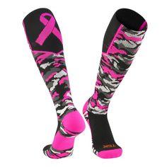 Breast Cancer Awareness Knee High Socks - Twin City Woodland Awere
