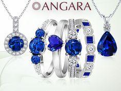 sapphire sapphire sapphire #jewelry #Angara @Kerry Walsh del Mundo