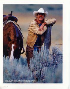 Holy crap! Batman is a cowboy! (Michael Keaton)