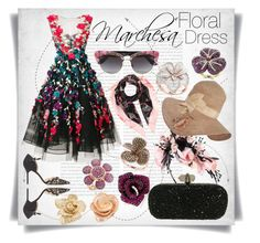 """""""Marchesa Floral Dress &Effy Jewerly"""" by imbeauty ❤ liked on Polyvore featuring Oris, Marchesa, Gucci, Valentino, Dolce&Gabbana, Effy Jewelry and floraldress"""