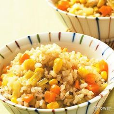 活力蔬菜飯食譜 - 種子核果類料理 - 楊桃美食網 專業食譜