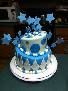 Whimsical cake:)