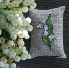 lily of the valley cross  stitch