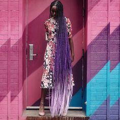 Purple hair, don't care.