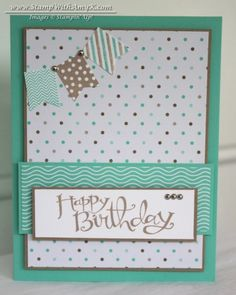 Banner Blast - Stamp With Amy K