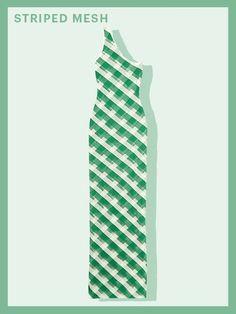 Spring Fashion Trends - Striped Mesh | allure.com