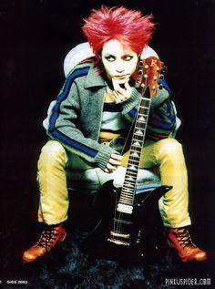 one of my guitar idols; hide matsumoto