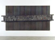 Jannis Kounellis Roses 2001