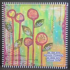 Treasured Moments of Inspiration: All things bright & Beautiful at That's Crafty Challenge blog