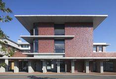 Sendai, Building Facade, Facade Design, Facade Architecture, Surface, Exterior, Education, Outdoor Decor, Image