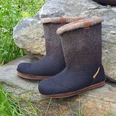 Felt Boots, Ugg Boots, Uggs, Wedges, Shoes, Fashion, Moda, Zapatos, Shoes Outlet