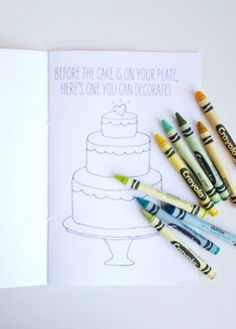 Downloadable Kids Coloring Book | 11 Ways To Keep Kids Busy At Your Wedding