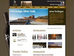 Aroa Bodegas - Vinos ecológicos: www.aroawines.com #web #vino