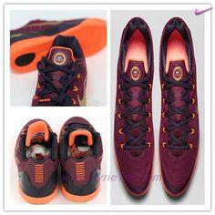 premium selection 52e63 c02f6 negozio scarpe Nike Kobe 9 EM Deep Garnet Cremisi vivo-Cave Viola-Oro