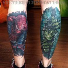 #marvel #hulk #spiderman