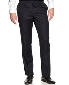 Tommy Hilfiger Navy Tonal Stripe pants