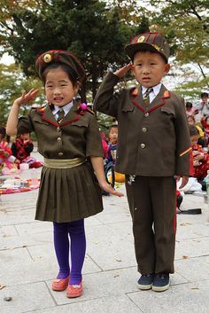 School children, Kaesong, North Korea
