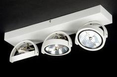 Moderne design spots plafondlamp is gemaakt van vol aluminium . Spots voor woonkamer keuken hal slaapkamer , kantoor of bedrijf . Webwinkel : www.rietveldlicht.nl