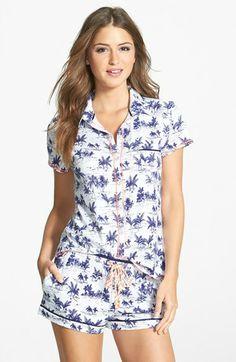 kensie 'Sunset Boulevard' Jersey Pajama Top available at The Pajama Game, Pajama Top, Top Boxers, Cute Pajamas, Nighties, Comfy Clothes, Sleep Tight, Me Time, Lounge Wear
