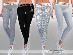 Sims 4 CC's - The Best: Designer Pyjama Pants by  Pinkzombiecupcakes