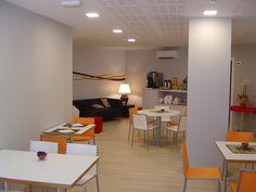 Our salon for breakfast. www.hostalaslyp114.com