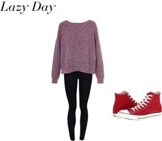 """""""Lazy Day"""" by rebecca-fitzpatrick on Polyvore"""