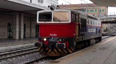 Stazione di Padova Italy-Treni Merci e Locomotive Speciali, 2013 - HD -