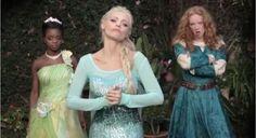 Disney Princess Rap Battle: Elsa vs. Snow White -- It's HILARIOUS, but not safe for kids!