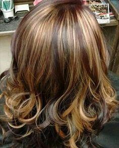 Pin wheel hair color design, hair by Sarah Kent.