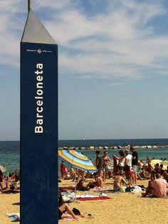 Barceloneta Beach in Barcelona, Catalonia. Barceloneta Beach, Barcelona Architecture, Roman City, Barcelona Catalonia, Spain And Portugal, Best Cities, Spain Travel, Wanderlust Travel, Madrid