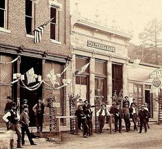 Percha Bank.  July 4 1888.  Kingston, NM.