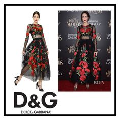 """Emily Blunt"" by ena07-dlxx ❤ liked on Polyvore featuring Dolce&Gabbana"