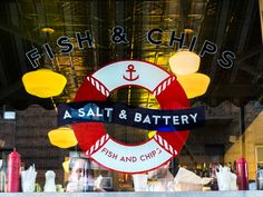 A Salt & Battery, New York's Top Fish and Chip Shop 112 Greenwich Ave (between Jane St and W. 12th St) New York, NY 10011