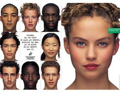 Campagne publicitaire Benetton, 1998 © Oliviero Toscani