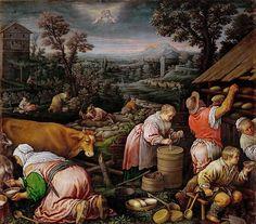 Leandro Bassano (1557-1622) -- May