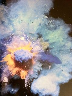 Abstract color explosions worth watching for a while. Inka, Explosions, Textures Patterns, Apocalypse, Art Photography, Illustration Art, Color Inspiration, Abstract, Tumblr
