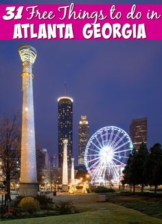 If you are heading to Atlanta there is such much to see and do that it will be easy to blow your budget. Try mixing in some of these free things to do in Atlanta with your paid attractions. You won't believe # 5 is actually free!