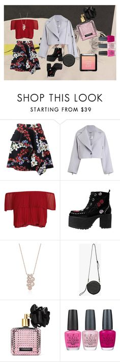 """First Date Outfit"" by liashevahapsari ❤ liked on Polyvore featuring MSGM, Zimmermann, Keepsake the Label, T.U.K., Victoria's Secret, OPI, DateNight, ootd, fabulous and women"