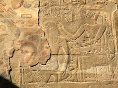 Templo de Luxor, y llegaron los cristianos...