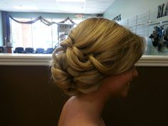 Prom up-do?