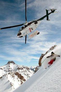 Skiing in Telluride