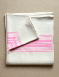 Love the pattern of the stripes. Super Pink