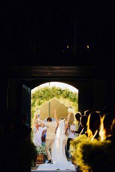Wedding celebration in Trancoso, Bahia, Brasil.