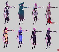Commision: Erulon concept 01 by Zarnala on deviantART