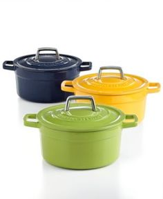 Colorful Cast Iron