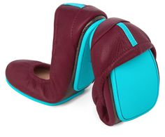 Burgundy tieks...apparently the most comfortable ballet flats in the world. If only they were also the most budget friendly!