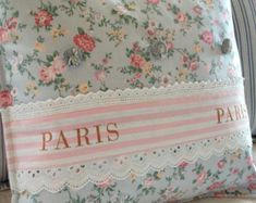 Francés país almohada Shabby Chic París Apartamento